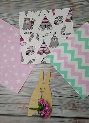 Носовые платочки 3 шт разные