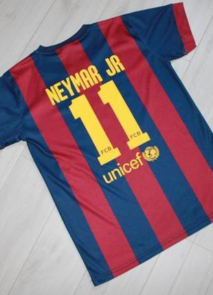 Футболка neymar jr 10-12 лет fcb барселона