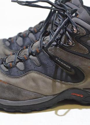 Треккинговые ботинки salomon elios 2 mid 105987 gore-tex outdoor