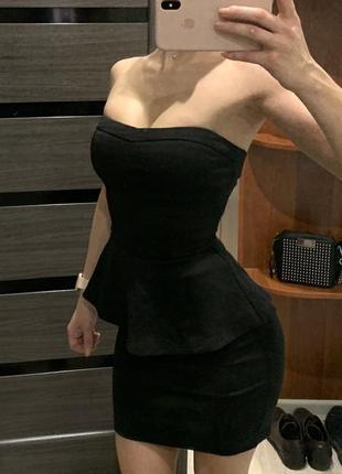 Идеальное платье с баской 🔥