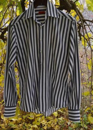 Мужская полосатая рубашка фирмы selected (s)