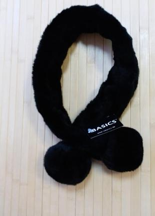 Меховой шарф воротник basics