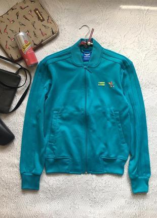 Сочная куртка-бомбер, спортивная кофта /adidas/ размер xs-s(см. замеры)