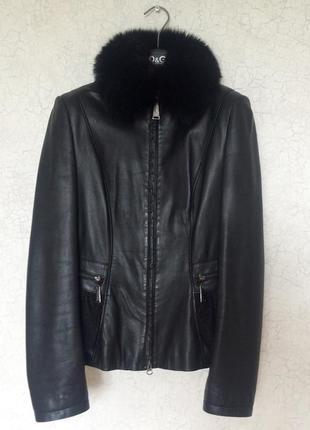 Кожаная куртка gizia
