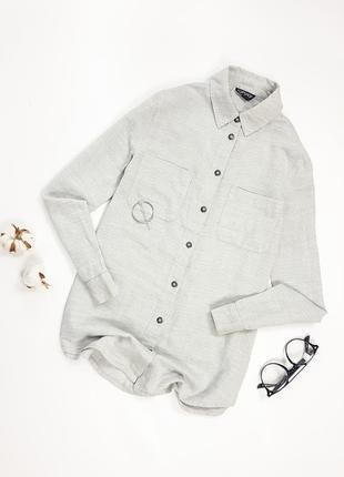 Базова сіра сорочка topshop