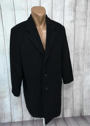 Пальто стильное, кашемировое, spenger, черное