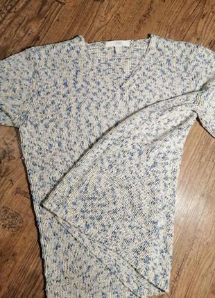 Роскошный вязаный свитер кольчуга tcm