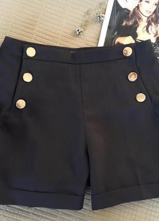 👌базовые шорты от h&m размер xs👌