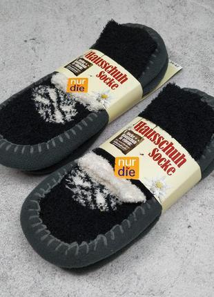 Домашние тапочки носки nur die тапки