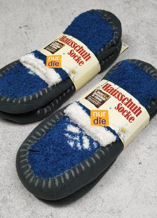 Домашние тапочки носки nur die