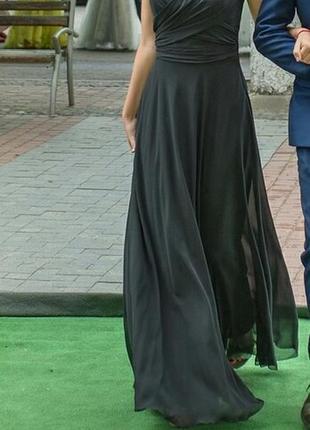 Нежное летящее платье