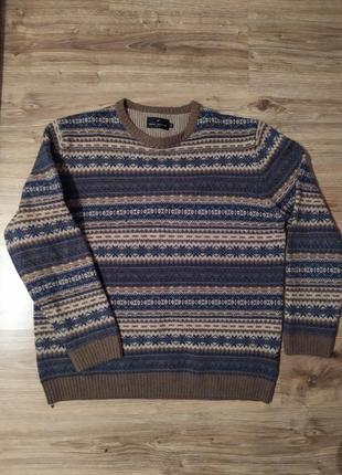 Мужской теплый свитер от daniel hechter