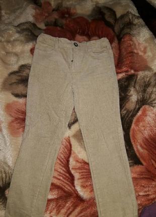 Вельветовые брюки ,фирма kiabi (франция)