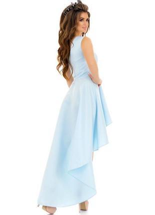 Срочно, торг!роскошное нарядное платье небесно-голубого цвета. возможен торг!