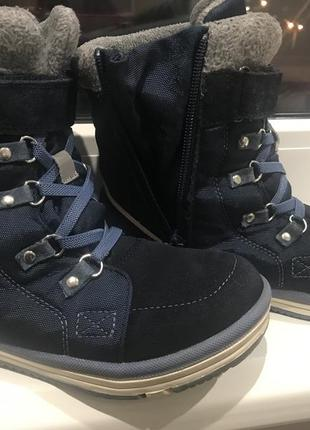 Зимние ботинки рейма 33р