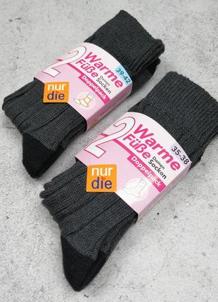 35-38, 39-42 набор теплые носки на зиму warme socken nur die