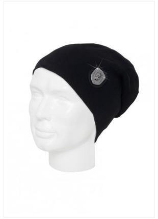 Черная шапка look 54 berlin
