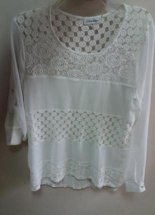 Шикарна блуза із сша.  бренд calvin klein