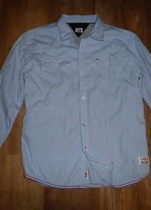 Рубашка tommy hilfiger на 12 лет рост 152 см, 100% коттон