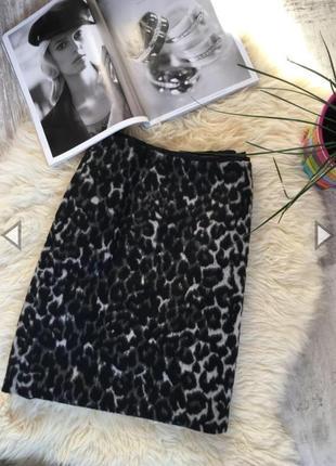 Стильная/тёплая юбка (актуальный принт)