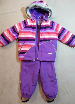 Зимний комплект lenne, размер 98+6, куртка и полукомбез