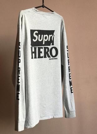 Лонгслив supreme x antihero