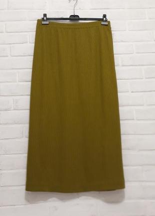 Супер стильная юбка в рубчик 22-24 размер