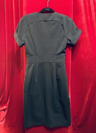 Чёрное платье andre tan