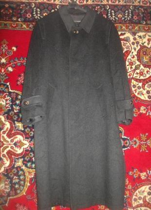 Пальто мужское шерстяное с кашемиром yorn my men