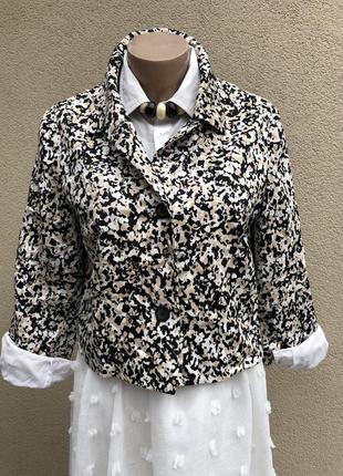Легкий жакет,пиджак,блейзер,хлопок,люкс бренд,оригинал,