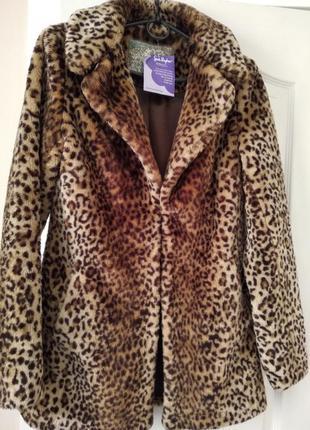 Модная шубка пиджак