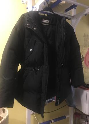 Куртка zara пуховик1 фото
