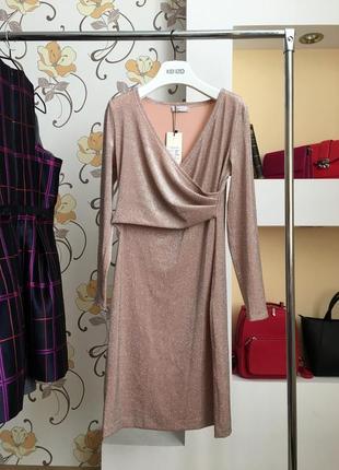 Выходное , дизайнерское, нарядное , вечерние платье на запах от украинского бренда seam