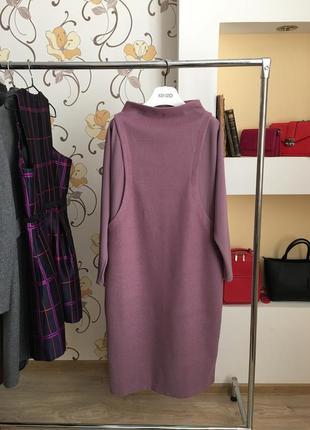 Тёплое , шерстяное , базовое , длинное , дизайнерское платье от seam