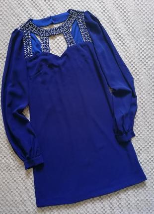 Шикарное шифоновое платье little mistress