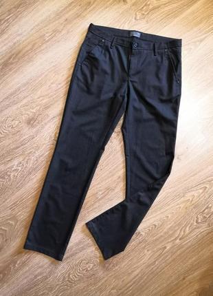 Мужские брюки в мелкую полоску кэжуал турция black cold