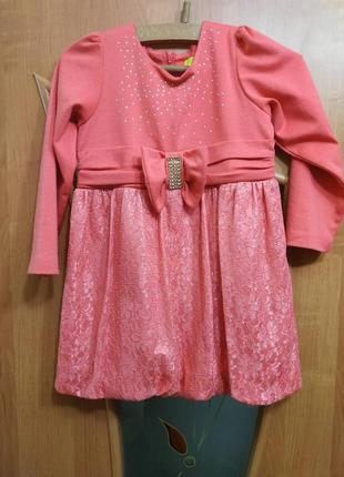 Плаття на дівчинку 6-7 років