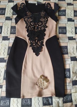 Женское облегающие платье