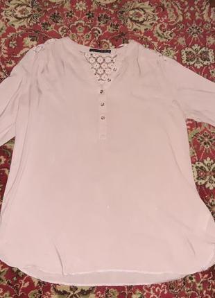 Красивая блузка (цвет пудра)