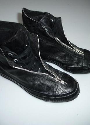 Converse кожаные кроссовки, ботинки конверс, оригинал, р 36,5