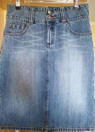 Оригинальная котоновая юбка-миди,зимний котон,качество,р.s/44.