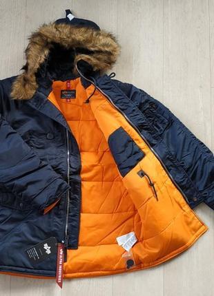 Парка куртка alpha industries men´s n-3b slim fit оригинал сша
