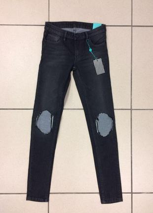 Рваные джинсы скинни бренда catwalk88 (1904)