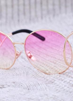 Оригинальные розовые крупные очки chloe витрина уценка -40%