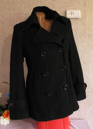 Теплое пальто montego размер eur 40