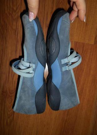 Туфли  р.40 кожа нубук