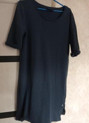 Утепленное платье-туника object р.л