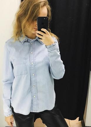Тренд сезону ! джинсова сорочка denim