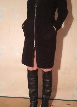 Элегантное теплое платье осень-зима
