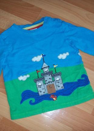 Лонгслив, футболка с длинным рукавом, 2-3 года
